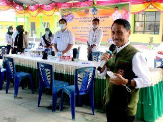 Bupati Nelson Dorong Capaian Vaksin Covid-19